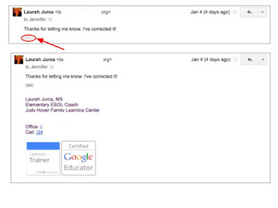 PROBLEM: Email Signature OMITTED when replying to emails - Google ...