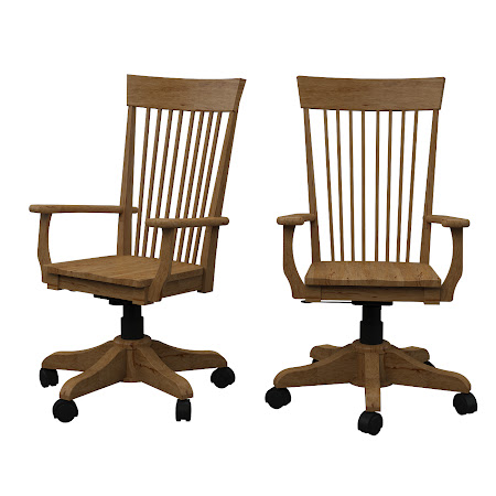 Lancaster Office Chair in Classical Maple