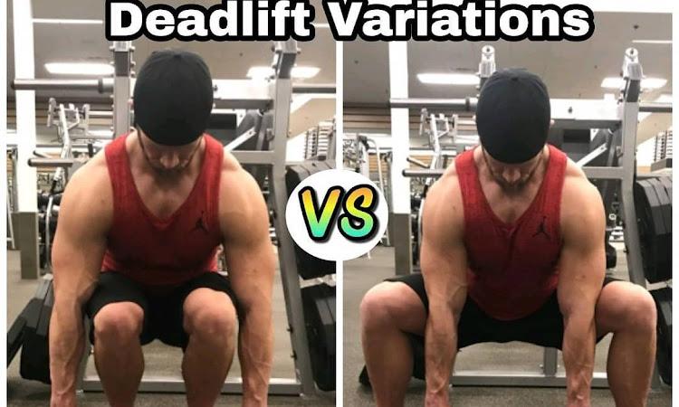 Deadlift variations