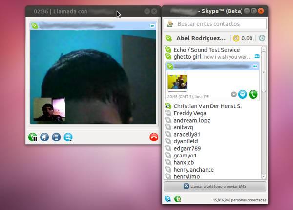 Intalar Skype en Ubuntu 11.10