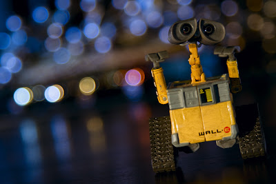 Wall-e Meets Bokeh