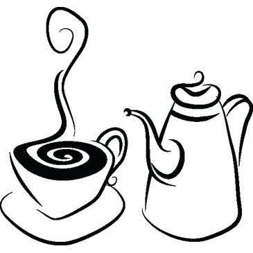 Dibujos De Café Y Cafeteras Para Colorear