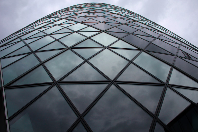 london architecture 30 st mary axe jerkin close close up