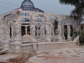 Dome, Exterior, Gazebo, Gazebos, Ideas, Landscape Decor, Natural Stone, Statue