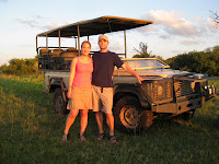 First sundowners - Botswana