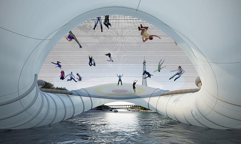 *AZC新構思 巴黎「彈簧橋」:彈著過塞納河! 3