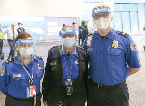 TSA Team at LaGuardia Airport Earns Homeland Security Award for Pandemic Heroism
