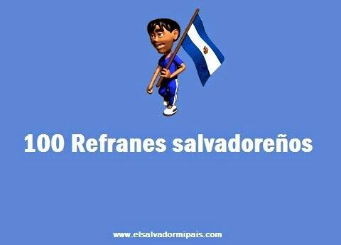 Refranes salvadoreños