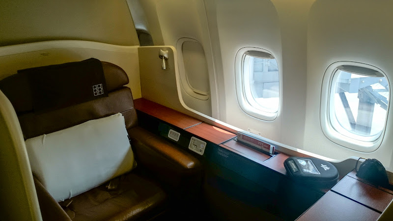 JL%252520F%252520HND LHR 63 - REVIEW - JAL : First Class - Tokyo Haneda to London (B77W)