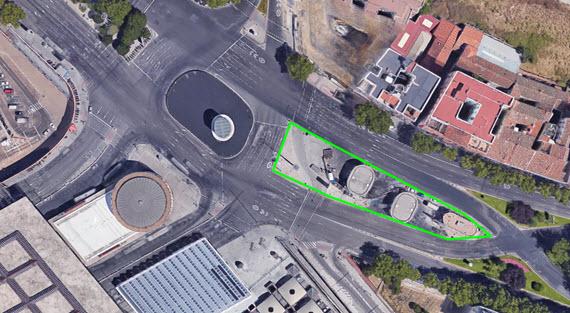 La gasolinera de Atocha desaparecerá dejando una zona verde en 2018