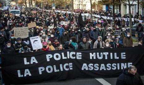 Masyarakat Prancis Menolak RUU Keamanan