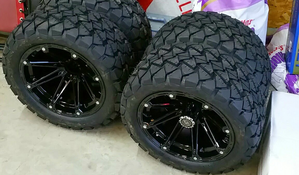 Madjax Timberwolf A/T Tires on tractor tires, 18x8.5 tires, go ped tires, trailer tires, mud traction tires, golf equipment, golf balls, v roll paddle tires, truck tires, 23x10.5-12 tires, golf cars, car tires, forklift tires, 20x10-10 tires, atv tires, golf clubs, bicycle tires, golf bags, utv tires, sahara classic tires, skid steer tires, golf apparel, motorcycle tires, ditcher tires, scooter tires, golf accessories, 18 x 8.50 x 8 tires, carlisle tires, light truck tires, sweeper tires, industrial tires,