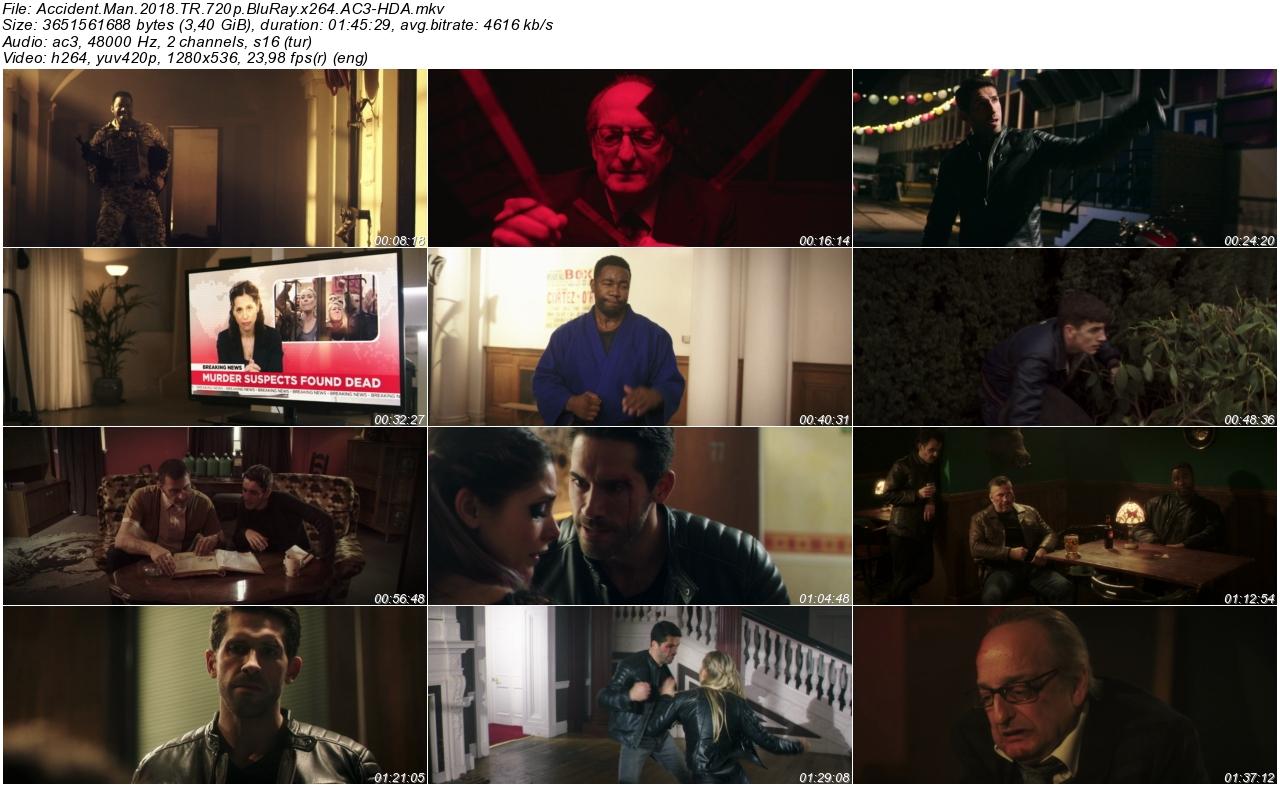 Accident Man 2018 - 1080p 720p 480p - Türkçe Dublaj Tek Link indir