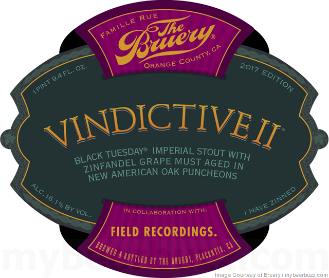 The Bruery - Vindictive II Collaboration