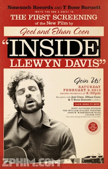 Hành Trình Của Đam Mê - Inside Llewyn Davis (2013) Poster