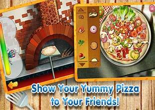 لعبة طبخ بيتزا