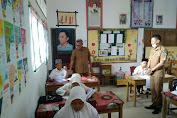 Plt Dinas Pendidikan Pidie Jaya Tinjau Sekolah SDN  3 Ulim Yang Melaksanakan USBN Secara Mandiri.