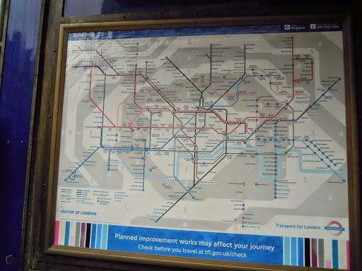 London Tube. From Transportation in London