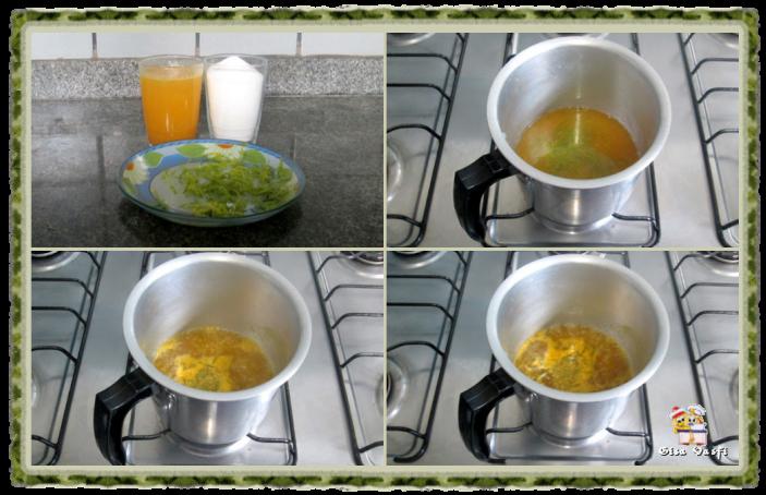 Bolo de laranja e limão 6