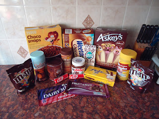 All the Chocolate I could find