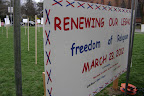 "Welcome to ""Renewing Our Legacy"" Silent Procession 3-25-12"
