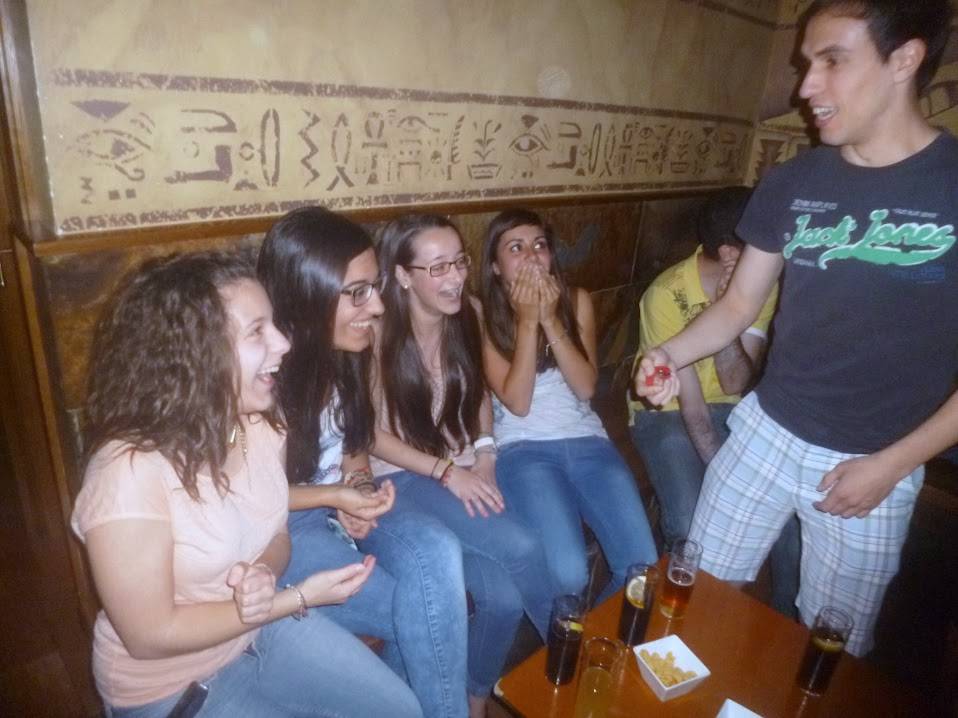 Alfonso V magia en Pub Menfis Íscar