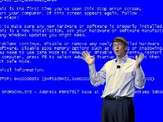 Pantalla azul de la muerte de Windows