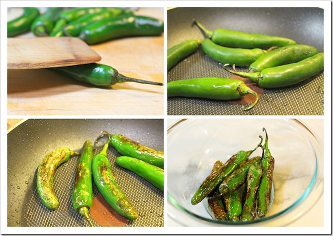 How to make Chiles Toreados Recipe | Instructions step by step