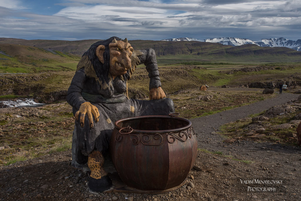 Тропа троллей в Исландии -Troll Trail in Iceland