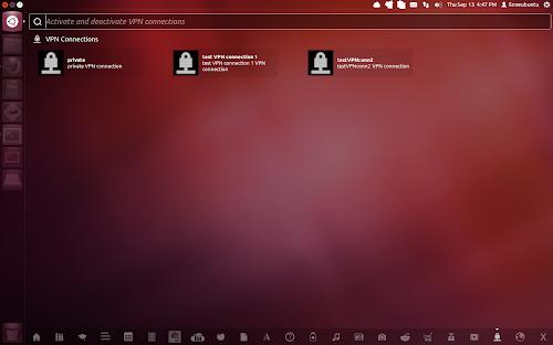 Unity VPN Lens su Ubuntu