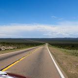 Infinita highway a caminho de Malargue, Argentina