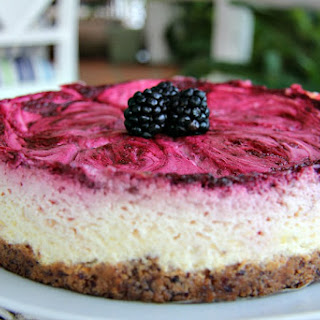 Blackberry & Lime Cheesecake