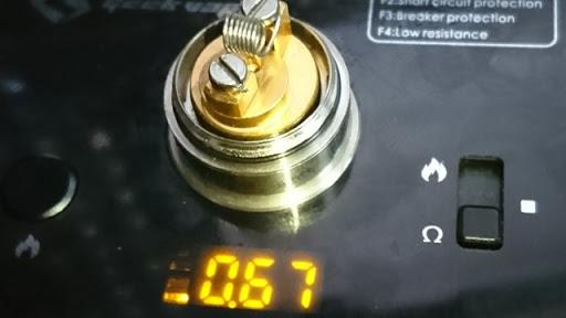 DSC 2934 thumb%255B2%255D - 【RTA】E-Phoenix「The Hurricane V2」ハリケーンV2 スイス製RTAレビュー!高コストだが最強のパフォーマンスを発揮するフレーバーチェイスRTAのゴール【電子タバコ/爆煙/オーセンティック】