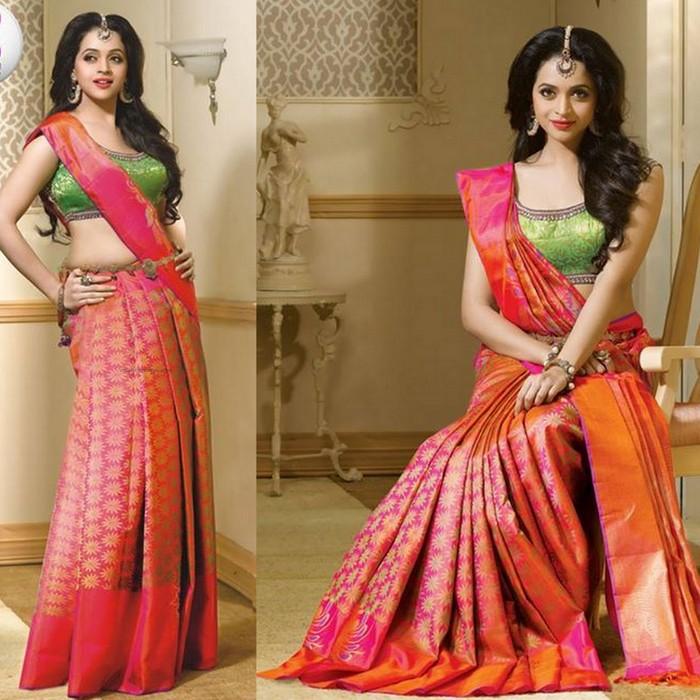 Top 50 Gorgeous Photos Of Bhavana-Mallu actress Hot Saree pictures  Sexy Images