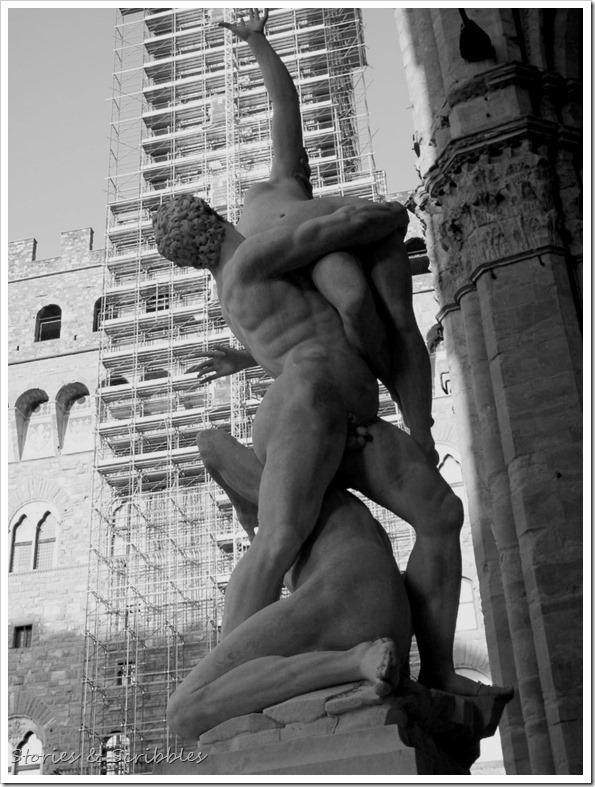 The Rape of the Sabine Women (Piazza della Signoria, Florence)