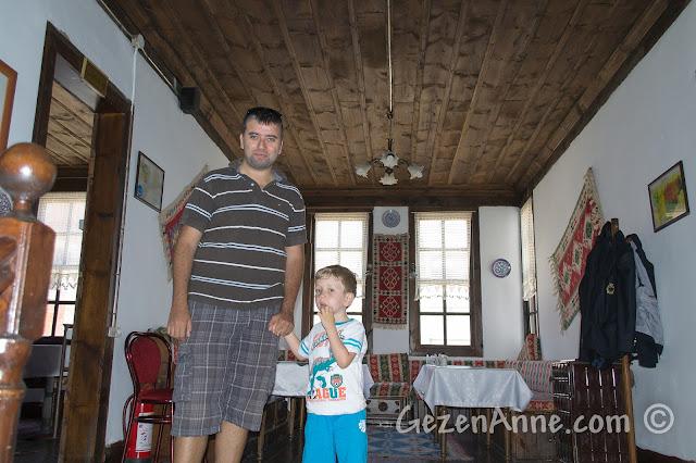 Kastamonu'daki Eflanili Konağı'nın içi