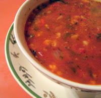 A Couple In The Kitchen Meatless Monday Takeout Garden Vegetable Soup With Pesto From Panera