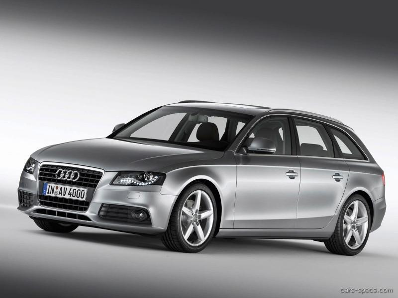 2008 audi a4 wagon specifications pictures prices. Black Bedroom Furniture Sets. Home Design Ideas