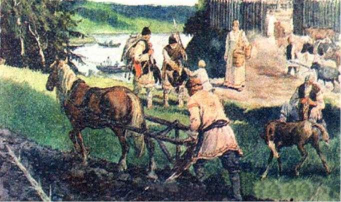 славяне на реке Лаба