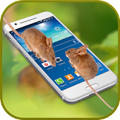 Mouse on Screen: Scary Best Crazy Prank Fun App