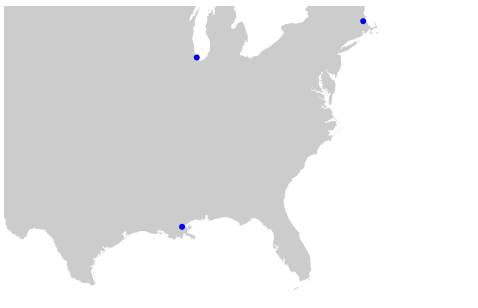 Small Map of Continental US – Data visualization, analysis, coding
