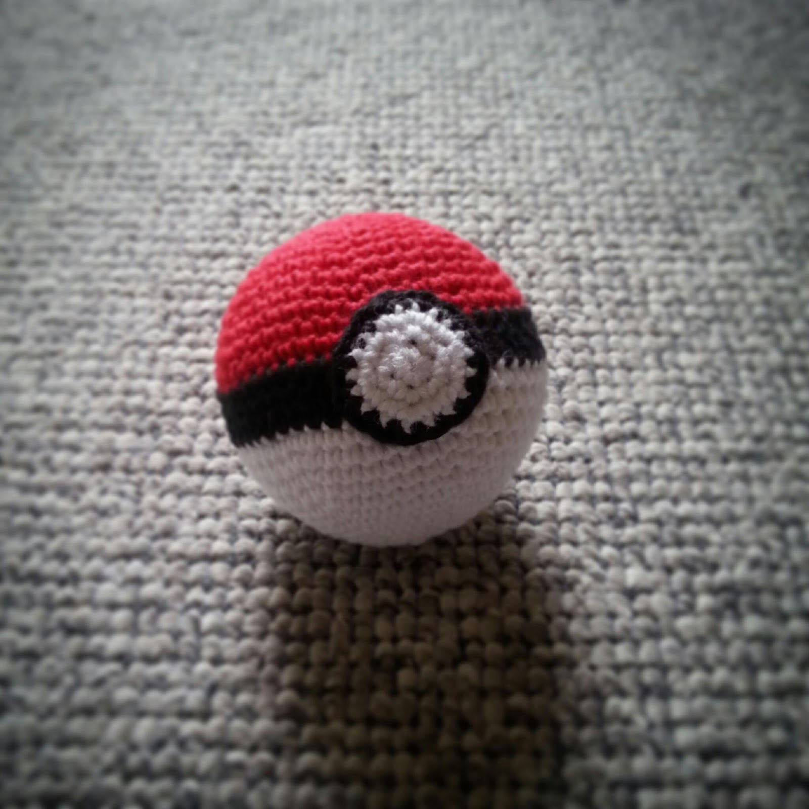 hæklet pokemon ball