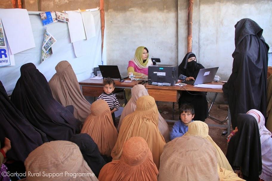 Women Desk at Akakhel Embarkation Point Khyber Agency