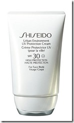 Shiseido Urban Environment Broad Spectrum Sun Cream for Face and Body