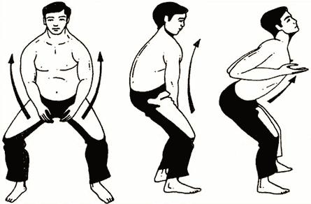 Упражнение № 6 – «Натянутый лук»