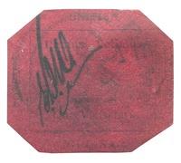 Guyana 1856 1 c magenta
