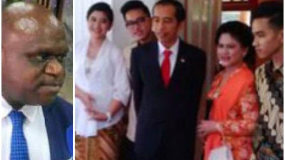 Natalius Pigai Tiba-Tiba Tanya, Andai Jokowi atau Keluarganya Ditahan karena Kasus Korupsi, Apa Ada yang Membela?