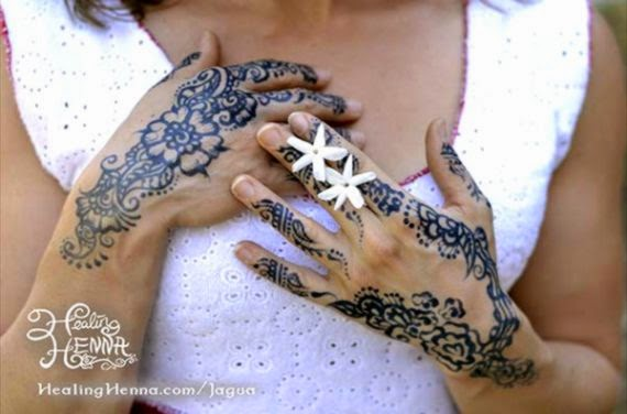 Jagua All Natural Body Art  Temporary Blue Black Tattoos  San
