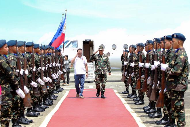 Image of President Duterte Arrives in Zamboanga City