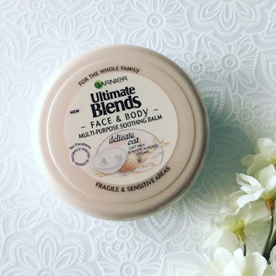Garnier Ultimate Blends Multi Purpose Soothing Balm Oat Milk and Almond